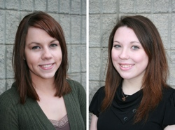 Oroville May Festival Queen Candidates Brandy Lynne Range and Cheyane Sharpe