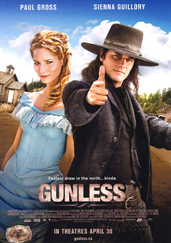 'Gunless' was filmed in Osoyoos in the summer of 2009. The western film showcased Osoyoos and the film production helped to boost the local economy, providing revenue for hotels, building material suppliers, restaurants and many other businesses It al