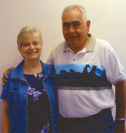 Gloria and Andrew Joseph are this year's Chesaw Fourth of July Rodeo Grand Marshals